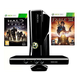 Microsoft Игровая Консоль Microsoft X-Box 360 Slim 250Gb + Fable3 + Halo:reach